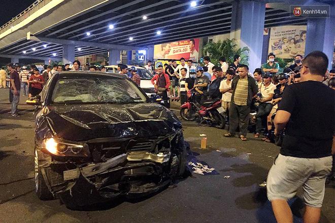 Nữ tài xế BMW gây tai nạn liên hoàn ở ngã tư Hàng Xanh khai nhận có sử dụng rượu bia, buồn ngủ khi tông xe