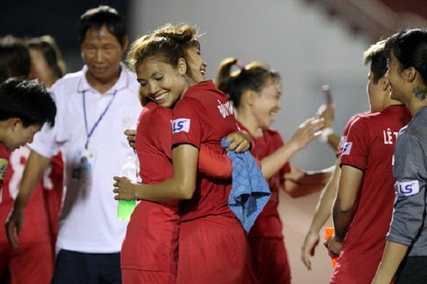 Thiếu 4 trụ cột vì án phạt ẩu đả, TP HCM 1 chịu thua Phong Phú Hà Nam trong trận chung kết giải vô địch bóng đá nữ quốc gia 2018