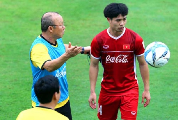 Công Phượng ghi bàn giúp đội tuyển Việt Nam thắng trận giao hữu trong đợt tập huấn