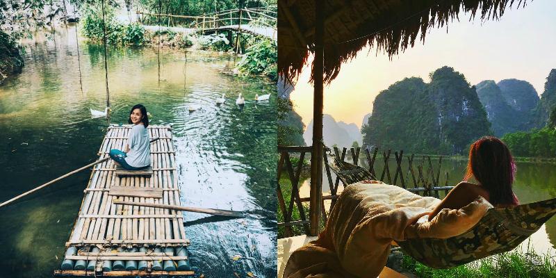 """Sống kiểu """"nông dân"""" ở 6 homestay thuần Việt ngay tại Ninh Bình, giá """"hạt rẻ"""" còn có view đẹp bất chấp luôn"""
