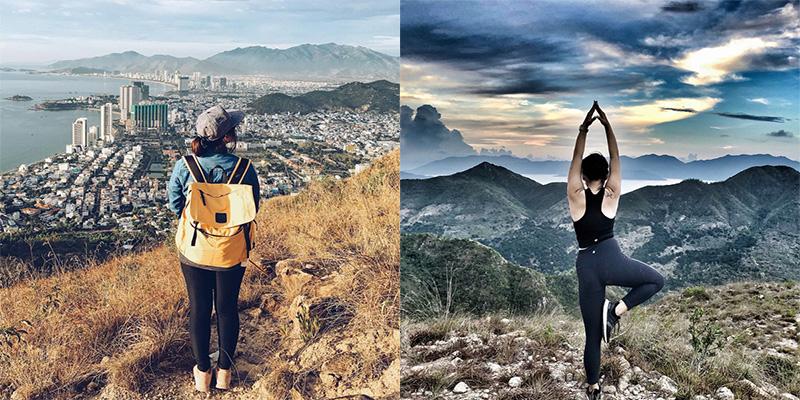 """Chênh vênh trên đỉnh Cô Tiên - điểm """"view"""" thu trọn cả phố biển Nha Trang không thể đẹp hơn"""