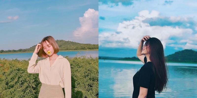 Chơi vơi Ea Kao - Hồ nước ngọt xanh biếc một màu giữa đại ngàn Tây Nguyên hùng vỹ