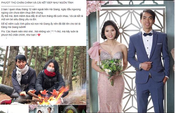 Chỉ 1 tháng sau chuyến phượt Hà Giang, chàng trai có ngay vợ đẹp, con ngoan khiến FA ùn ùn kéo đi phượt