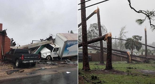 Cận cảnh sức tàn phá của siêu bão Michael - Cơn bão mạnh nhất trong 50 năm đổ bộ bờ Đông nước Mỹ