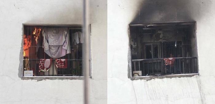 Chung cư HH Linh Đàm náo loạn vì lửa cháy dữ dội trong căn hộ tầng 31