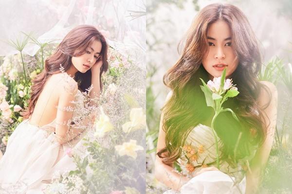 Hoàng Thùy Linh khỏe vẻ đẹp mong manh như nữ thần ở tuổi 30