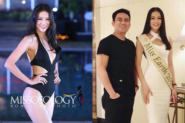 """Hoa hậu Phương Khánh lại vấp tranh cãi khi tăng 10cm số đo chỉ sau nửa năm và mối quan hệ """"mập mờ"""" với bác sĩ thẩm mỹ"""