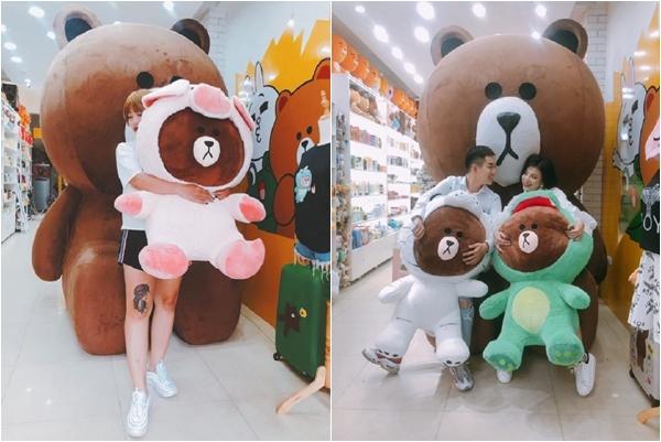 """[HOT rần rật] Rủ nhau checkin FREE với Gấu Brown made-in-Korea siêu """"khủng"""" ngay tại Hiếu Paris Shop"""