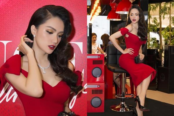 Diện bộ trang sức hơn tỷ đồng, Hoa hậu Hương Giang chiếm hết spotlight vì quá quyến rũ