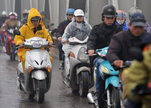 Dự báo thời tiết hôm nay: Hà Nội sắp đón mưa, giảm 4-5 độ