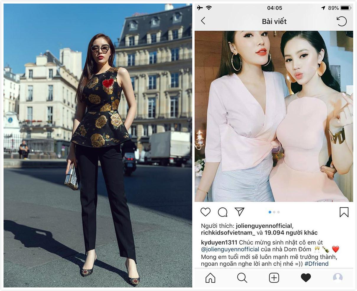 """Lên tầm cao mới từ Paris Fashion Week, Kỳ Duyên lại bị chỉ trích vì vội """"quay lưng"""" với chị em thân thiết"""