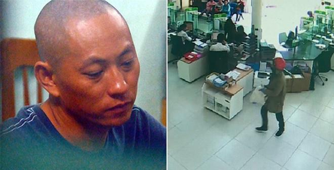 2 nghi phạm cướp ngân hàng ở Khánh Hòa sa lưới chỉ sau 1 ngày cướp tiền bằng súng