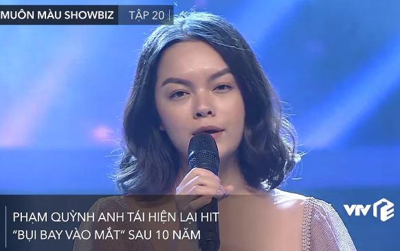 """Phạm Quỳnh Anh tái hiện siêu hit """"Bụi bay vào mắt"""" sau 10 năm, nghe mùi mẫn phát khóc như ngày nào"""