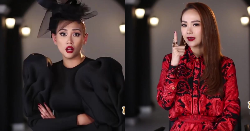 The Face tập 1: Võ Hoàng Yến chặt chém, chê Minh Hằng catwalk xấu, lườm nguýt, bĩu môi