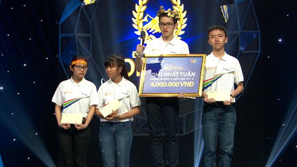Nam sinh Quảng Ninh lập kỷ lục với số điểm Khởi động - Đường lên đỉnh Olympia tuyệt đối
