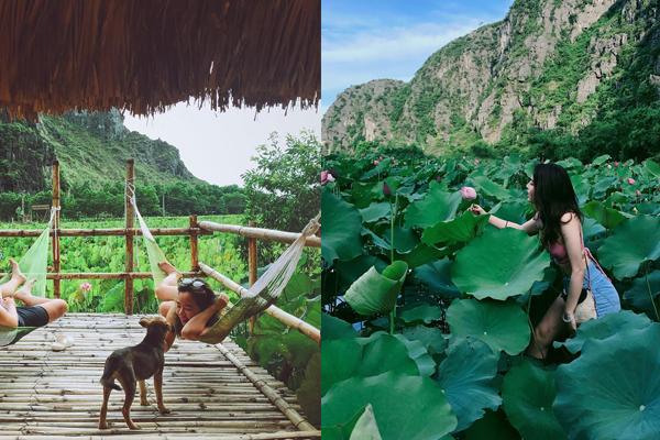Cuộc đời đâu được mấy, hè này nhất định phải check-in homestay tựa núi giữa đầm sen sát Hà Nội này