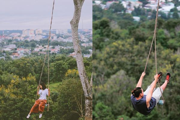Ai bảo Swing chỉ có ở Bali nào, Việt Nam cũng có trò đu dây mạo hiểm thích mê rồi này!
