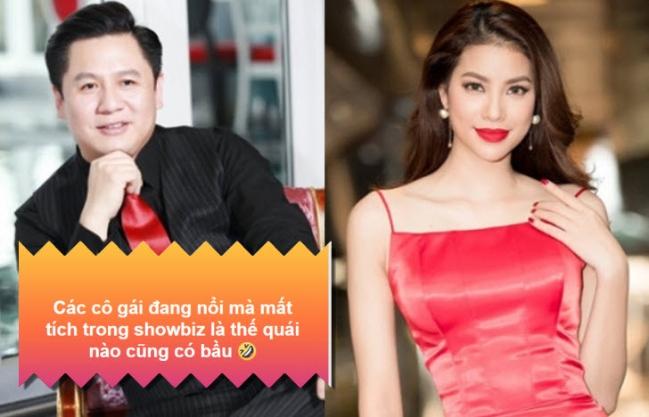 Rộ tin đồn Hoa hậu Phạm Hương mang bầu, sang Mỹ ở ẩn để sinh con và sự thật sau đó