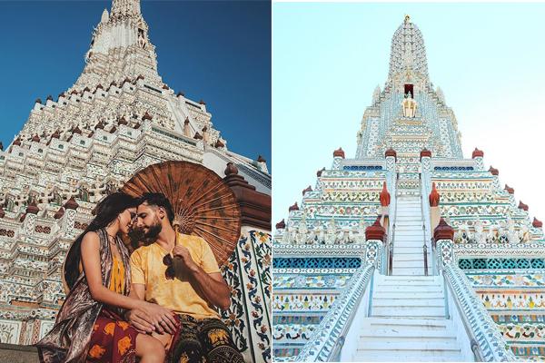 Choáng ngợp trước ngôi chùa bình minh đẹp chao đảo khiến giới trẻ phát cuồng