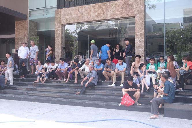 Cháy chung cư cao cấp 26 tầng tại Đà Nẵng, người dân hoảng loạn vì tưởng diễn tập PCCC
