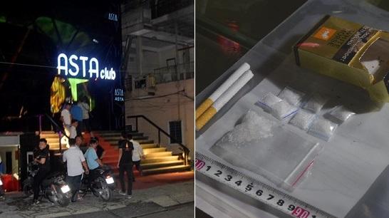 Công an đột kích một quán bar ở Huế, phát hiện số lượng lớn ma túy tổng hợp