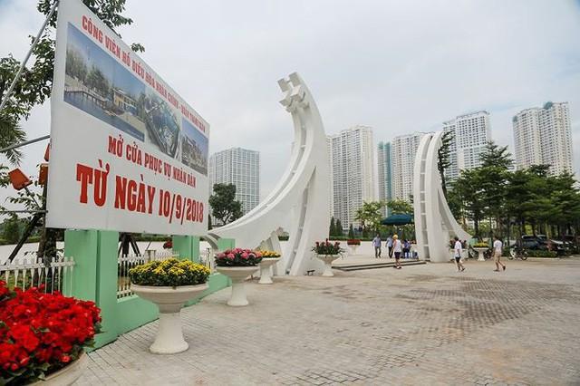 """Điểm vui chơi mới ở Hà Nội: Công viên hồ điều hòa 300 tỷ đồng đi vào hoạt động sau 2 năm """"đắp chiếu"""""""