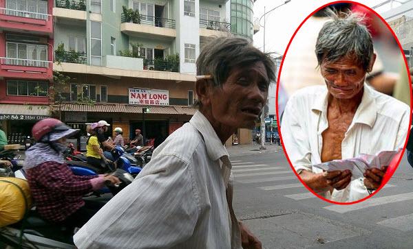 Cuộc sống thực tế của cụ ông bán vé số khóc mếu giữa trời mưa trong bức ảnh nổi tiếng