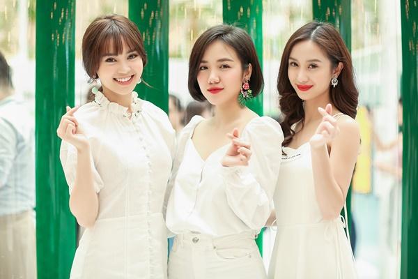 Không hẹn mà gặp, bộ 3 Lan Ngọc, Jun Vũ và Phương Ly cùng tranh nhau mặc đồ trắng nhưng chỉ có một người chiếm spotlight chính là....