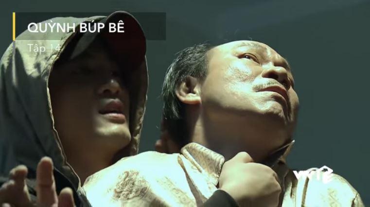 Tập 14: Cảnh kề dao bắt ông Cấn làm con tin, giải cứu Quỳnh ngoạn mục trong đêm