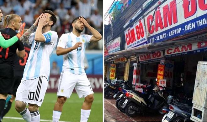Dân cá độ một đêm cầm cố tới 500 chiếc smartphone vì trận thua của đội tuyển Argentina