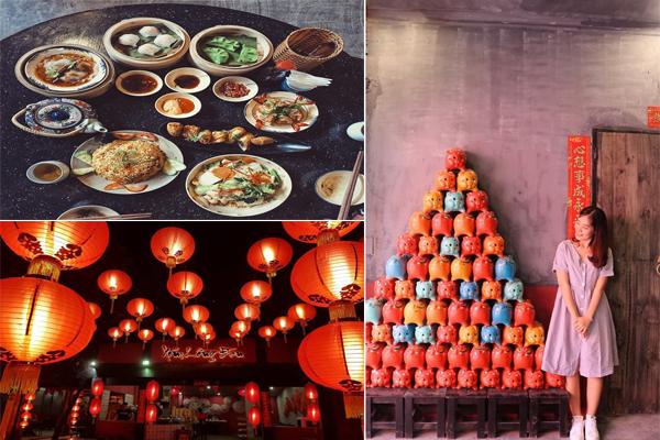 """""""Đê mê"""" xóm đèn lồng rực rỡ - hàng ăn mang phong cách có 1-0-2 ngay sát vách Sài Gòn"""