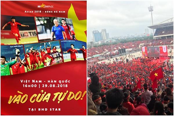 """""""Góp gió thành bão"""" với các địa điểm dựng màn hình LED tại Hà Nội """"tiếp lửa"""" cho trận bán kết U23 Việt Nam"""
