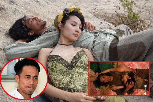 """""""Đào mộ"""" cảnh phim của Phạm Anh Khoa và Diễm My 9x mới thấy, nam rocker từng """"thanh khiết"""" thế nào!"""