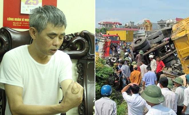 Gặp lại người lái tàu hy sinh cánh tay của mình để cứu hơn 300 hành khách khi xe tải băng qua đường sắt