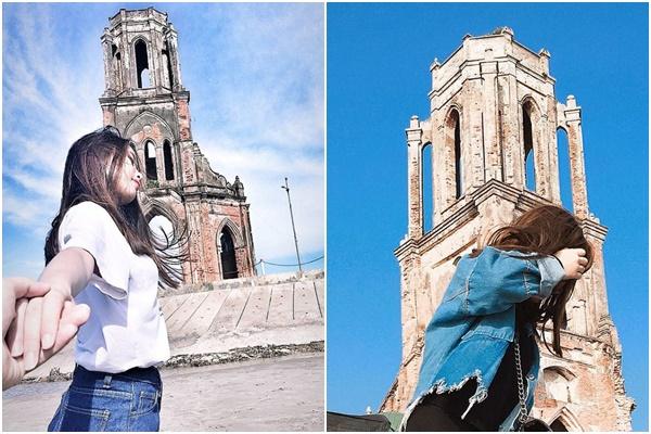"""Không cần xin visa vẫn check-in tới tấp với """"tháp nghiêng Pisa"""" miền biển ngay sát Thủ đô Hà Nội"""