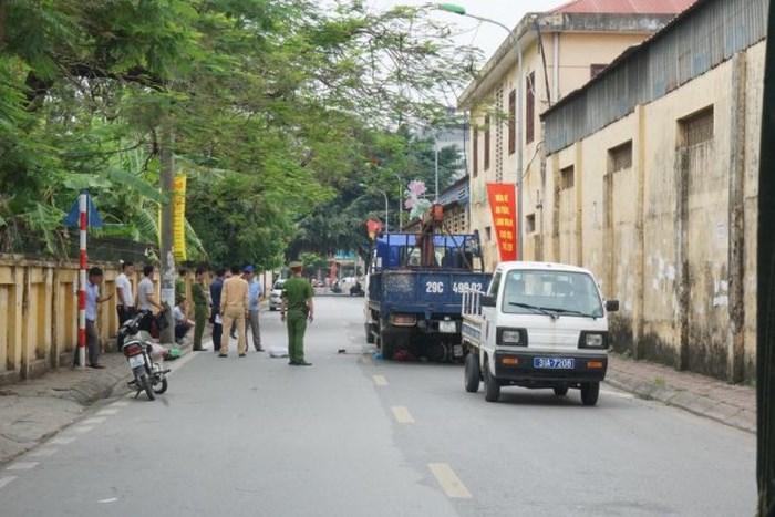 Khởi tố, bắt tạm giam tài xế xe tải lùi xe cướp đi sinhh mạng 3 mẹ con sản phụ tại Bắc Từ Liêm