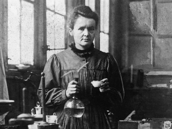 Nhà vật lý học Marie Curie là người phụ nữ có tầm ảnh hưởng nhất thế giới trong lịch sử