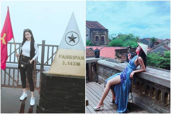 Nếu không làm Á hậu 2 HHVN thì Thúy An có thể suy nghĩ làm travel blogger, mới 21 tuổi đã đi gần hết bản đồ Việt Nam