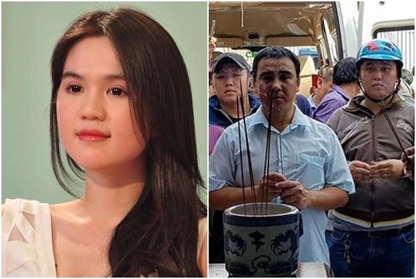 Quyền Linh và loạt sao Việt thắp hương cho 2 hiệp sĩ tử nạn, Ngọc Trinh chuyển ngay số tiền khủng ủng hộ