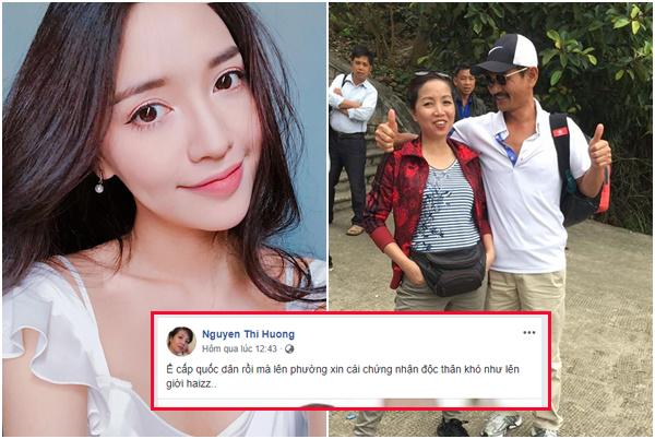 """Không thể chịu được nữa, bố mẹ Bích Phương dắt nhau lên phường xin giấy """"chứng nhận độc thân"""" cho con gái"""
