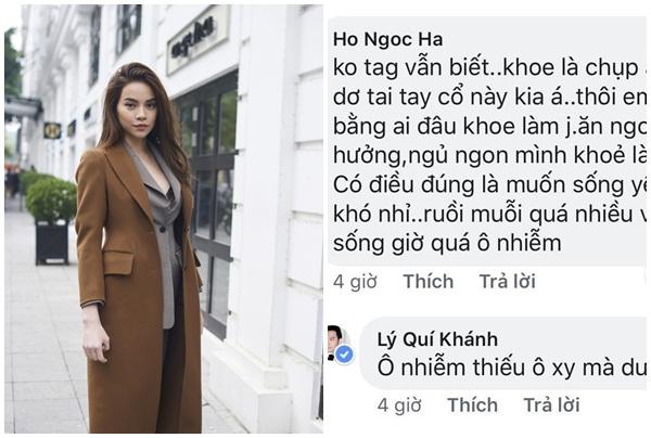 """Sau nghi vấn """"đá xéo"""" Lệ Quyên, Hồ Ngọc Hà viết tâm thư trải lòng lần cuối trước khi """"tạm biệt"""" bình luận trên MXH"""