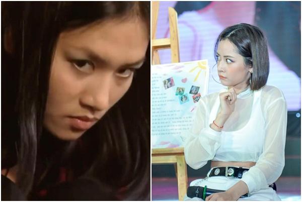 """Chi Pu """"trợn mắt"""" diễn lại cảnh chị Nguyệt thảo mai, nhưng biểu cảm quá lố, gượng gạo khiến fans """"bịt mồm cười"""""""
