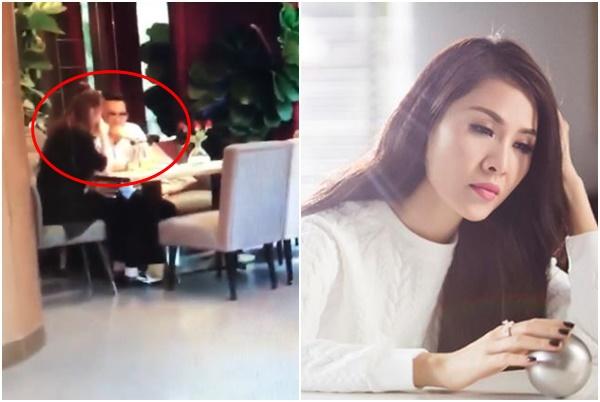 """Lộ clip Việt Anh lau nước mắt cho Quế Vân, bị cảnh cáo, Vân lại viết status """"gở mồm"""""""
