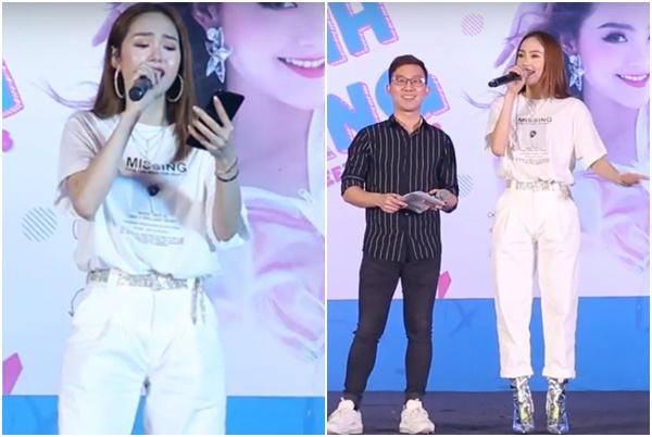 """Không còn hụt hơi, Minh Hằng hát live đã khác xưa, cướp hit """"Rời bỏ"""" của Hòa Minzy xuất sắc"""