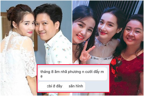 Lộ tin nhắn mẹ Nhã Phương tiết lộ con gái cưới Trường Giang vào tháng 8, nhưng sự thật là gì?