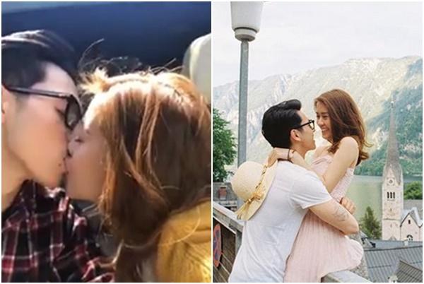 Lộ clip hot girl Ngọc Thảo hôn say đắm người yêu điển trai, giàu có, hóa ra là em vợ Shark Hưng?