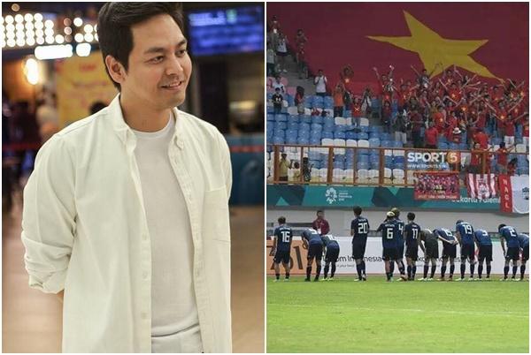 """MC Phan Anh bị """"ném đá"""" vì ẩn ý đội tuyển Olympic Việt Nam không được giáo dục tốt bằng Nhật Bản?"""