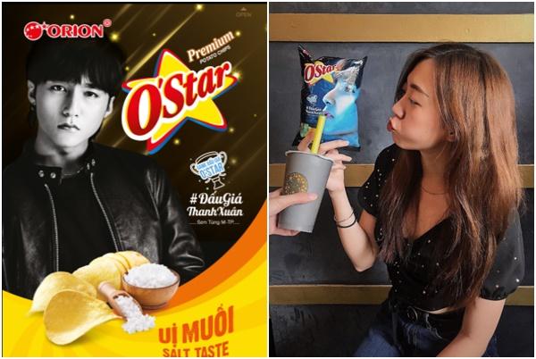 Sơn Tùng M-TP chính thức làm đại sứ Thương hiệu bánh Snack O'Star – Orion