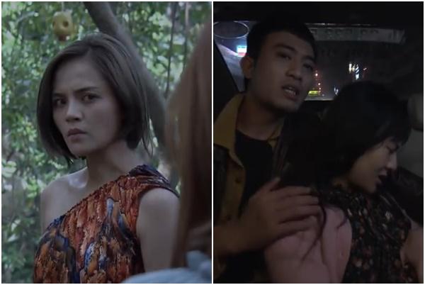 """HOT: Tập 7 -  My Sói bị """"xóm ngành"""" tát thâm tím mặt vẫn câng câng cười đểu, Cảnh sắp yêu Quỳnh?"""