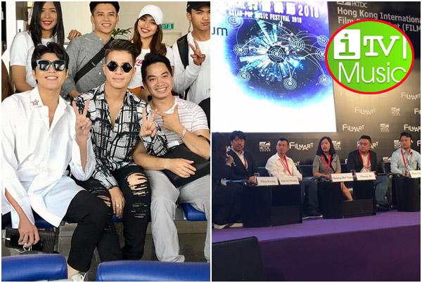 Noo Phước Thịnh khoe ảnh tại Hong Kong, truyền hình âm nhạc Việt Nam được bạn bè quốc tế khen ngợi